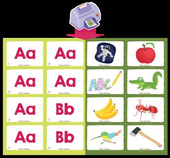 Alphabet flashcards phonics