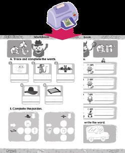CVC worksheet print